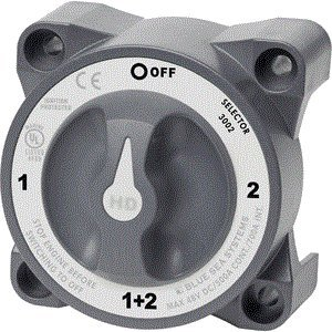 Blue Sea 3002 HD-Series Battery Switch Selector