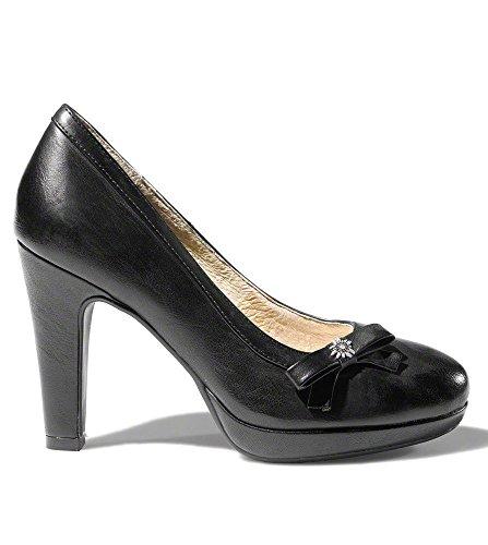 Stockerpoint AC_6070schwarznappa, Scarpe col tacco donna Nero nero