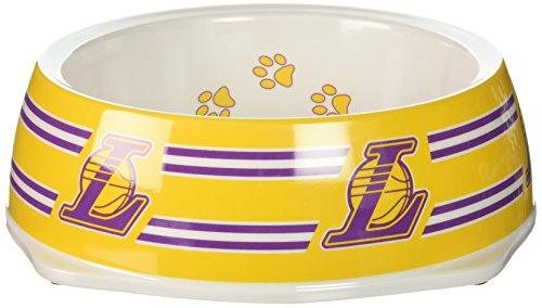 Sporty K9 NBA Los Angeles Lakers Pet Bowl, Large