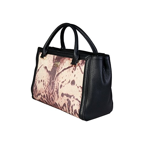 Designer Women Cavalli Black Class Handbag Genuine TX4FqrXS6