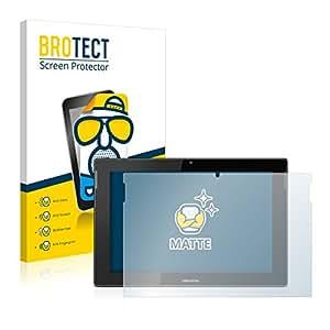 2x BROTECT Matte Protector Pantalla para Medion Lifetab S10365 (MD 99891) Protector Mate, Película Antireflejos
