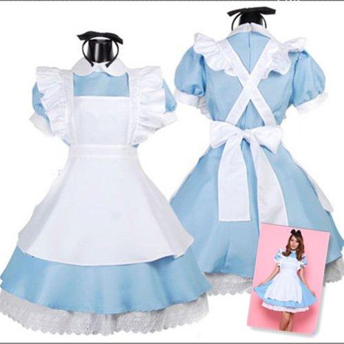 Deetto Cosplay Costume Alice in Wonderland Anime