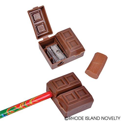 Chocolate Square Pencil Sharpener Eraser