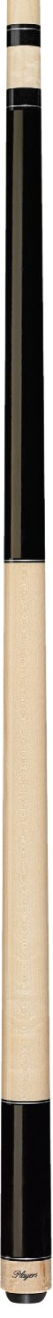 Players Exotics e-3120ミッドナイトブラックand Natural birds-eye Maple Cue B00F5YJV7O  20-Ounce