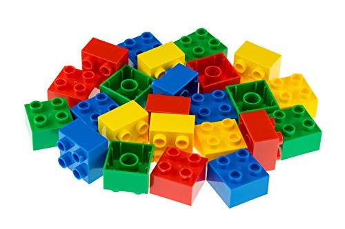 Strictly Briks Big Briks Building Brick Set 100% Compatible with All Major Brands | 1 Large Block Size Set for Ages 3…