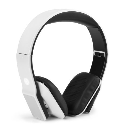 GOgroove BlueVIBE DLX Bluetooth On-Ear Folding Headset with High Definition Drivers, 14 Hour Battery, Lightweight Design, Plush Comfort Ear Cups, EVA Carry Storage Case