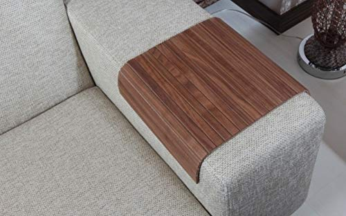 Surprising Sofa Tray Table Sofa Arm Table Full Slatted Natural Evergreenethics Interior Chair Design Evergreenethicsorg