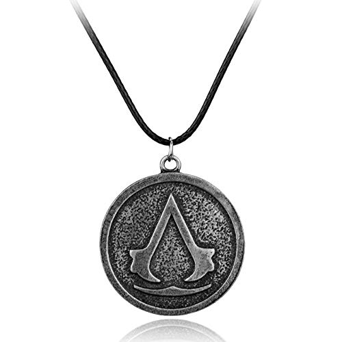 Inveroo Game Accessories Cosplay Assassin Creed Necklace ()
