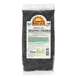 Sésamo negro Biogra 250 g: Amazon.es: Alimentación y bebidas
