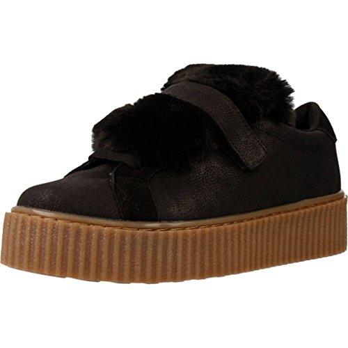GIOSEPPO chaussures basses de chaussures de sport de femmes avec plate-forme et la langue amovible 4140 NOIR black