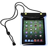PrimeCases® iPad mini All Weather Waterproof Case Cover Bag Sleeve With Adjustable Neck Strap