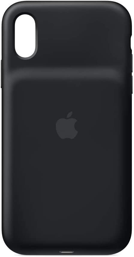 Apple - Funda con batería inteligente, para iPhone XR - Negro/Blanco
