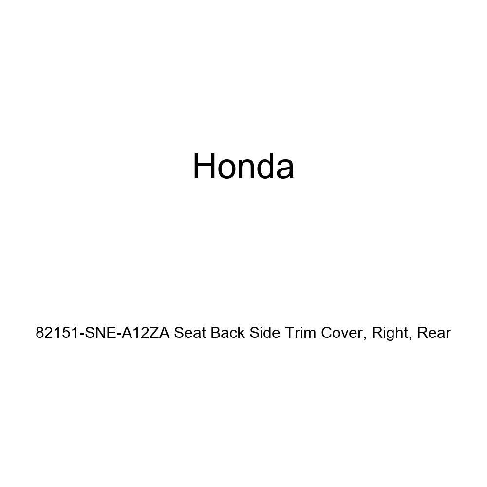 Honda Genuine 82151-SNE-A12ZA Seat Back Side Trim Cover Rear Right