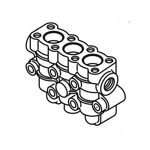 Cat Pumps 133143, Manifold Discharge BB for 15FR Plunger Pump 1580 ()