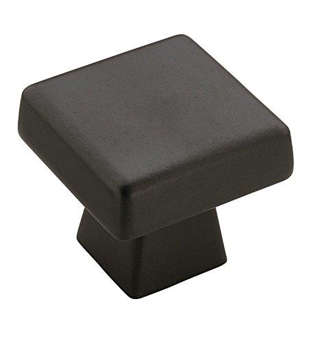 Amerock Bronze Knobs (Amerock BP55273BBR Blackrock 1-1/2 in (38 mm) Length Black Bronze Cabinet Knob)