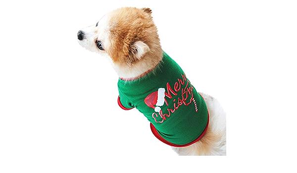 Fossrn Ropa Perro Pequeño Navidad Camiseta de Frase - Dear ...