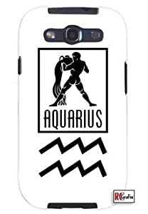 Hu Xiao Aquarius Sign Zodiac Horoscope Symbol Unique Quality Soft Rubber PC case cover for Samsung Galaxy S4 I9500 1HBcPnp4a7f White case cover