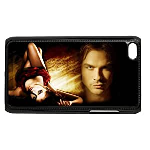 Personalized Custom Tv Series The Vampire Diaries Ideas Printed for IPod Touch 4/4G/4th Phone Case Cover--WSM-052701-038