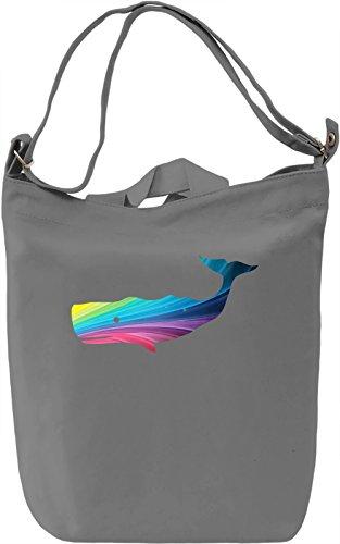 Homosexuwhale Borsa Giornaliera Canvas Canvas Day Bag| 100% Premium Cotton Canvas| DTG Printing|