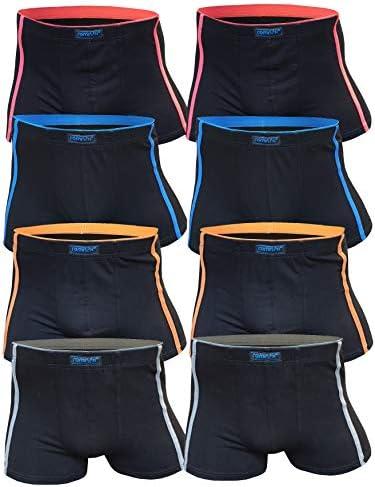 SGS 8er Pack Kinder Jungen Boxershorts Baumwolle Unterhosen Slips Jungs Boxers Unterwäsche