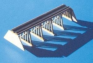 Blair Line Ho Scale Building - Blair Line - Pile & Frame Trestle Kit -- Laser-Cut 6