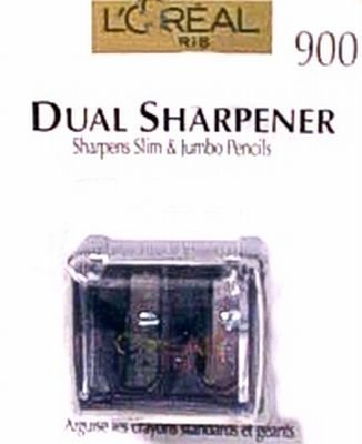 L'Oreal Paris Dual Sharpener with Clear Cover (3-Pack)
