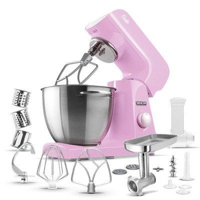 Sencor Pastel Tilt-Head Stand Mixer Cherry blossom pink STM 48RS-NAB1