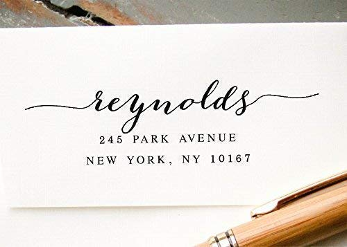 B0175PGC3Q Self Inking Return Address Stamp, Personalized Pre-inked Envelope Addressing Stamp 41FeUTA3NTL