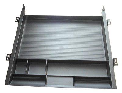 Custom Plastics Cpf 89777 Pencil Drawer Tray With Slides - Black by Custom Plastics