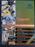 Carpentry, NCCER, 013047214X