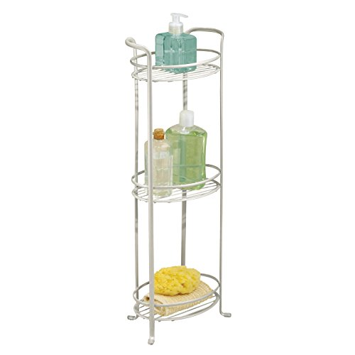 mDesign Standing Bathroom Storage Accessories product image