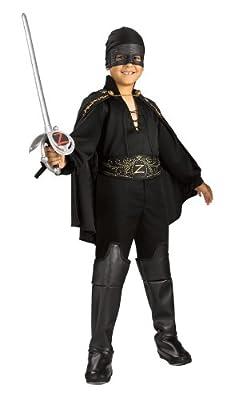 Zorro Childs Zorro Costume Small by Rubies