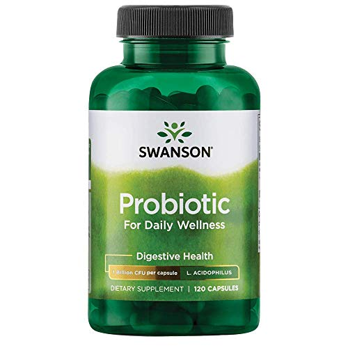 Swanson Probiotic for Daily Wellness 2 Billion Cfu 120 Capsules