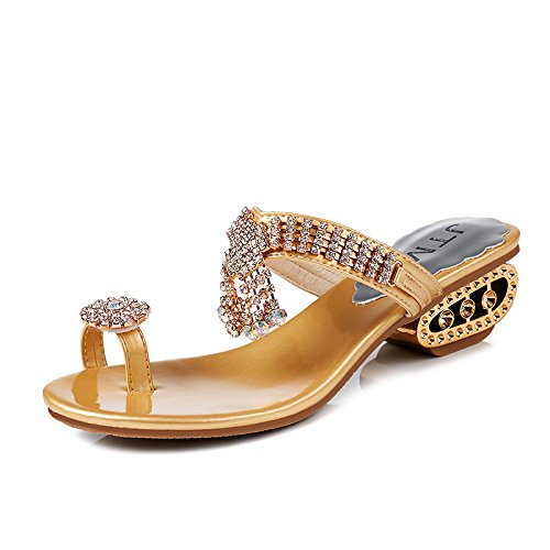 con americana e pendio KPHY europea europea pantofole le l'esercitazione 2018 sandali golden estate 40 one Forty RRgvnCxEwq