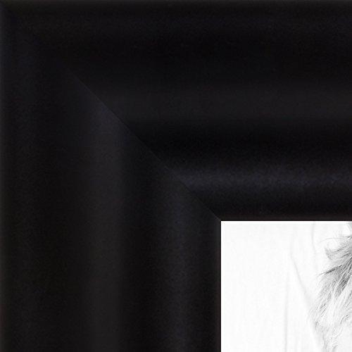 ArtToFrames 13x16 inch Dura Matte Black Wood Picture Frame, 2WOMD9582-13x16