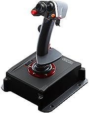 Flashfire Cobra V5 Flight Simulation Joystick with Hall Sensor Technology, Dedicated Throttle Control