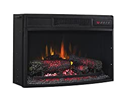 Classic Flame 25EF033CGL Curved Electric Fireplace Insert from ClassicFlame