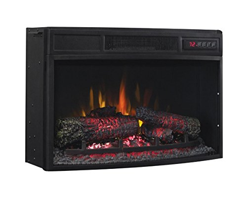 Cheap Classic Flame 25EF033CGL Curved Electric Fireplace Insert Black Friday & Cyber Monday 2019