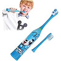 Wumedy Cute Cartoon Soft Children Electric Toothbrush