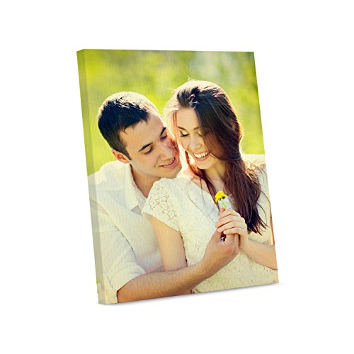 Picture Wall Art Your Photo on Custom Canvas Gallery Wrapped 16 x 20 Vertical Print Stretched Over Standard Wooden Frame