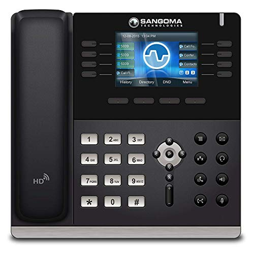 Sangoma s505 VoIP Phone with POE (or AC Adapter Sold Separately) ()