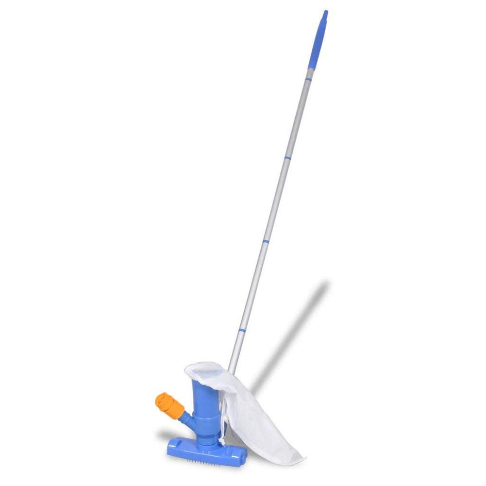 Reuvv Pool Spa Jacuzzi Pond Vacuum Brush Cleaner Portable Tool For Pond Fountain Hot Tub Deluxe Pool Maintenance Kit
