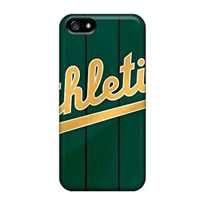 New Style Tpu 5/5s Protective Case Cover/ Iphone Case - Oakland Athletics