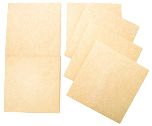 Kitchen Supply Old Stone Oven Baking Tiles, Set of 6