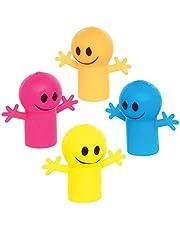 Baker Ross AT763 Blije Vingerpoppetjes (12 stuks) Speelgoed en Spelletjes voor Kinderen