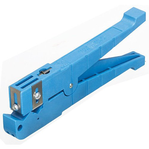 Ideal Industries Blue Coaxial Cable Stripper, 1/4