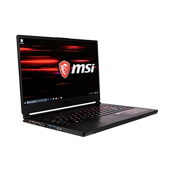 CUK MSI GS65 Stealth Thin Gaming Notebook (Intel i7-9750H, 64GB RAM, 2TB NVMe SSD, NVIDIA GeForce RTX 2060 6GB, 15.6… 2