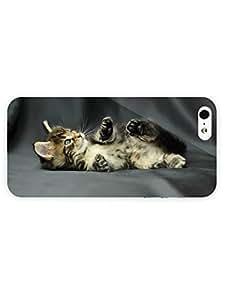 3d Full Wrap Case for iPhone 5/5s Animal Kitten26
