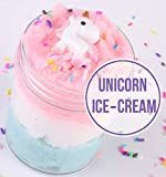 Unicorn Fairy Putty Cloud Slime, Cotton Candy Slime Supplies Stress Relief Toy Scented Sludge Toy for Girls and Boys 4OZ