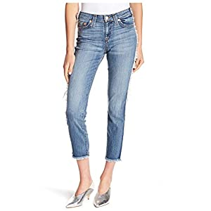 True Religion Women's Colette Hi Rise Tapered Skinny Jeans